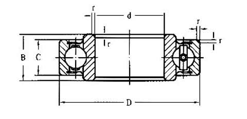 Steering and Drive Shaft Bearing 1